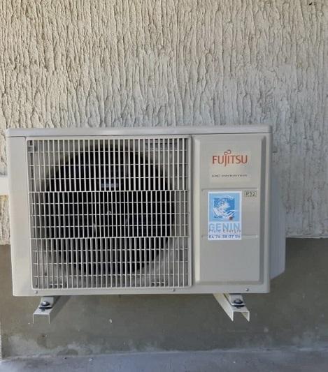 Pompe à chaleur air/air Genin Froid Energie