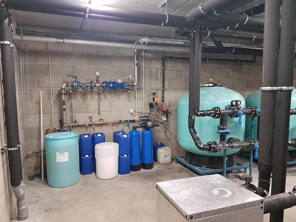 Centrale de traitement de l'eau de process chez Elydan
